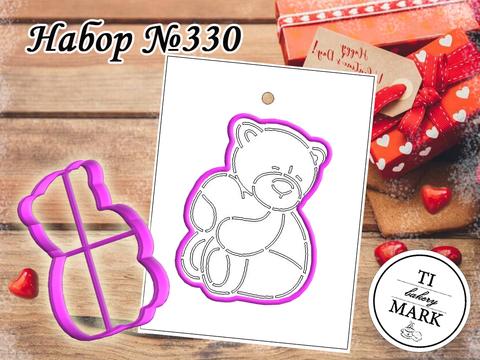 Набор №330 - Мишка с сердцем