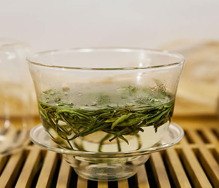 TEA-CH102-2 Зеленый чай «Ворсистые пики с желтой горы» (Хуан Шань Мао Фэн, 50 гр) фото 10