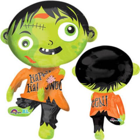 Фигура фольга Зомби зеленый