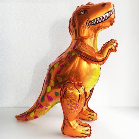 Динозавр Тиранозавр оранжевый