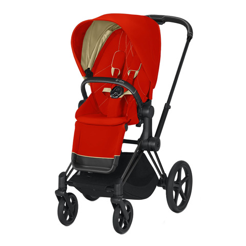 Прогулочная коляска Cybex Priam III Autumn Gold Matt Black