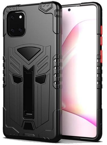 Защитный чехол для Samsung Galaxy Note 10 Lite, серии Dual X с магнитом и складной подставкой от Caseport