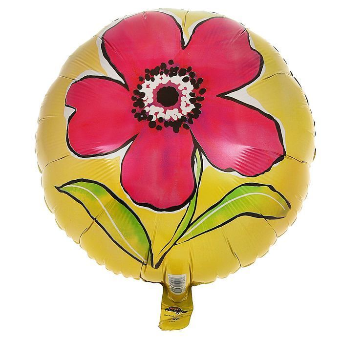 Шар-круг цветок