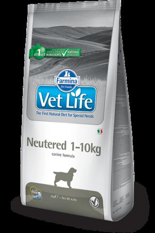 Сухой ветеринарный корм Farmina Vet Life Dog Neutered 1-10 кг