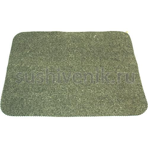 Войлочный коврик для бани (серый)