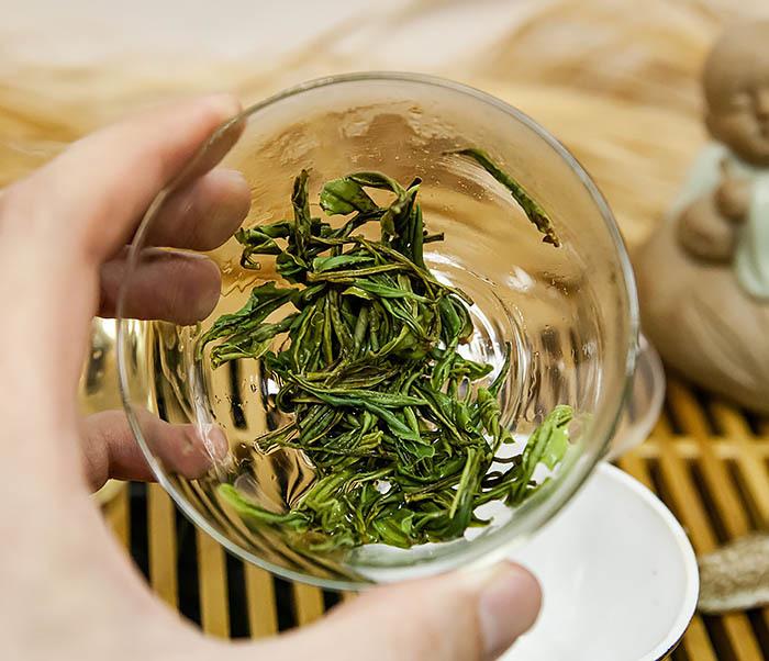 TEA-CH102-2 Зеленый чай «Ворсистые пики с желтой горы» (Хуан Шань Мао Фэн, 50 гр) фото 11