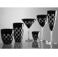 Бокал для вина серия Domino, 180 мл, черный, фото 2