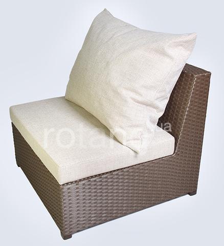 """Прямой элемент """"Ибица-1000"""" с подушками"""