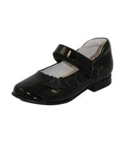 Лакированные черные туфли для девочки