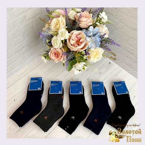 Носки махровые подростковые (6-12) 201118-S3893