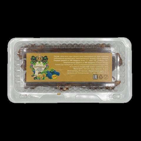 Чурчхела виноградная с грецким орехом, 330 гр