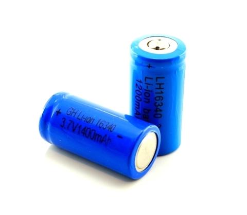 Аккумуляторы 16340 Bailong 1400mAh (Li-ion)