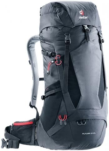 Картинка рюкзак туристический Deuter Futura 34 El Black - 1