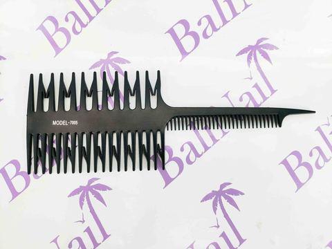 Расчёска профессиональная для мелирования карбоновая антистатическая, мод. 7005