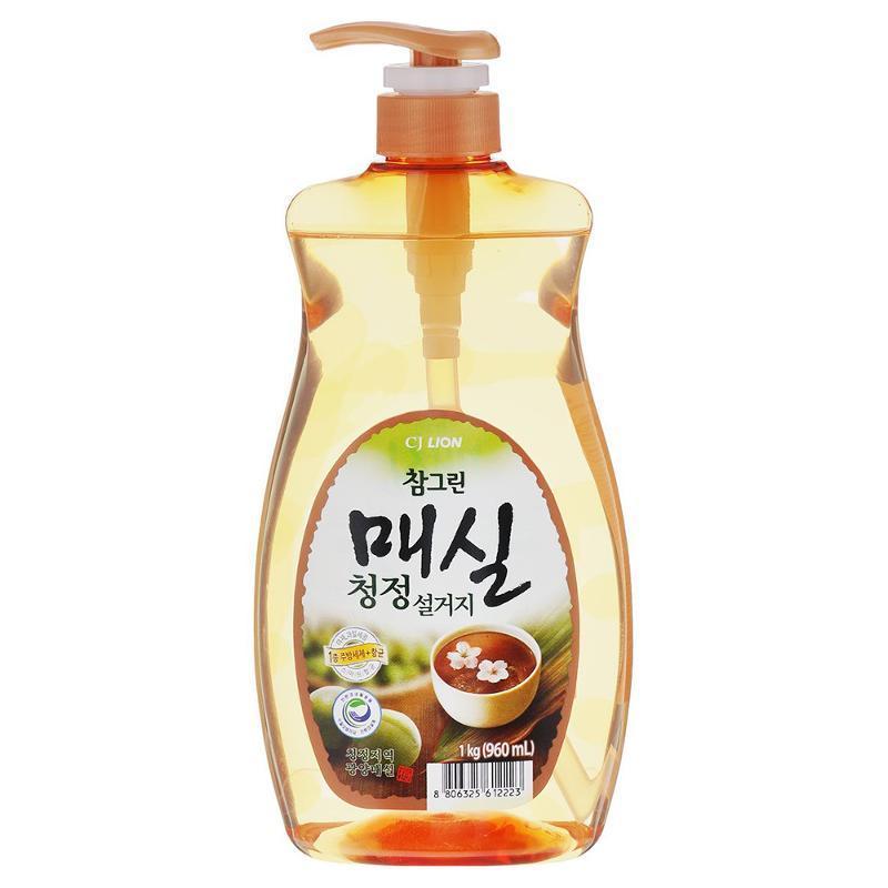 Средство для мытья посуды японский абрикос Chamgreen 960 мл