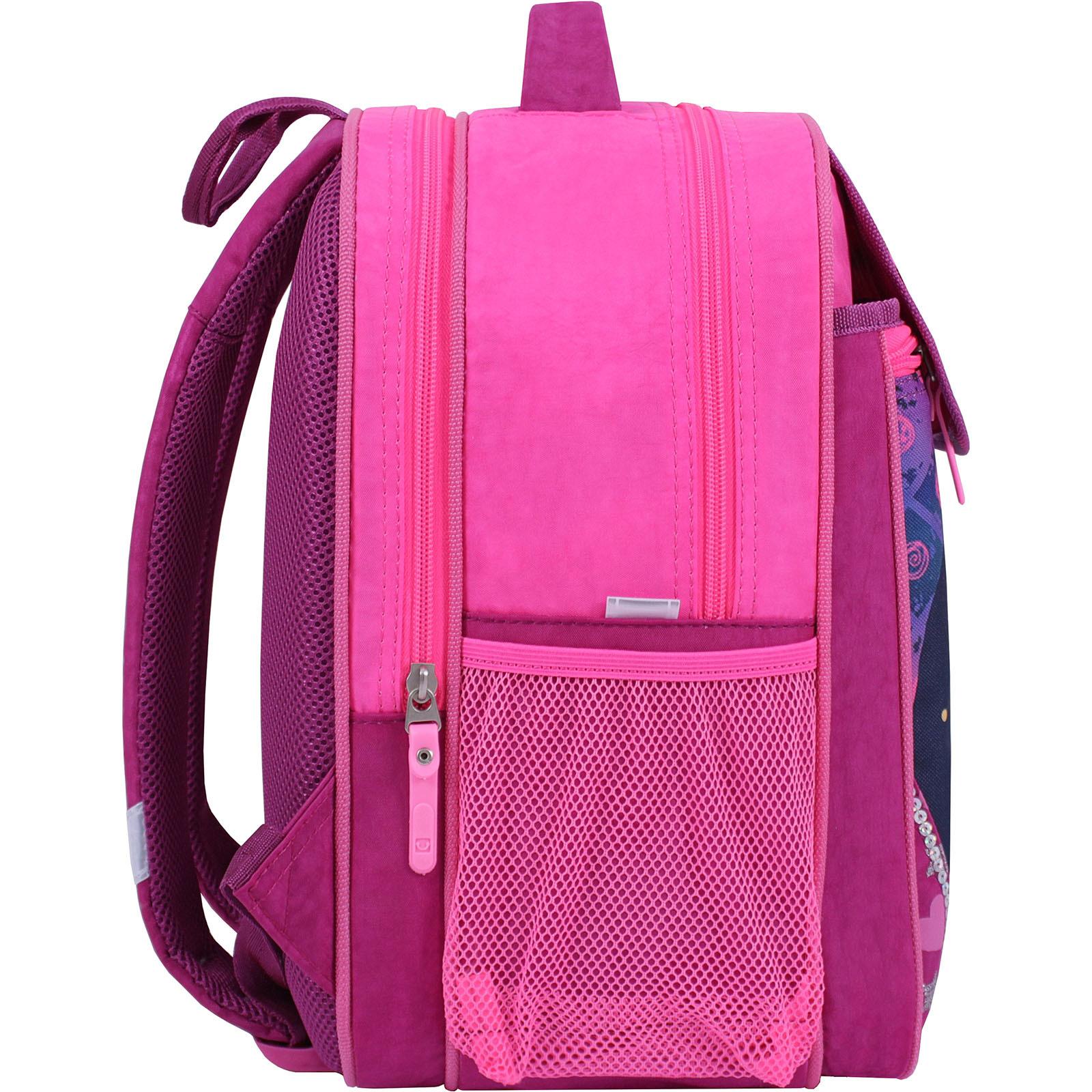 Рюкзак школьный Bagland Отличник 20 л. 143 малина 504 (0058070) фото 2
