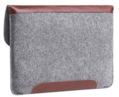 Чехол-конверт Gmakin для Macbook коричневый