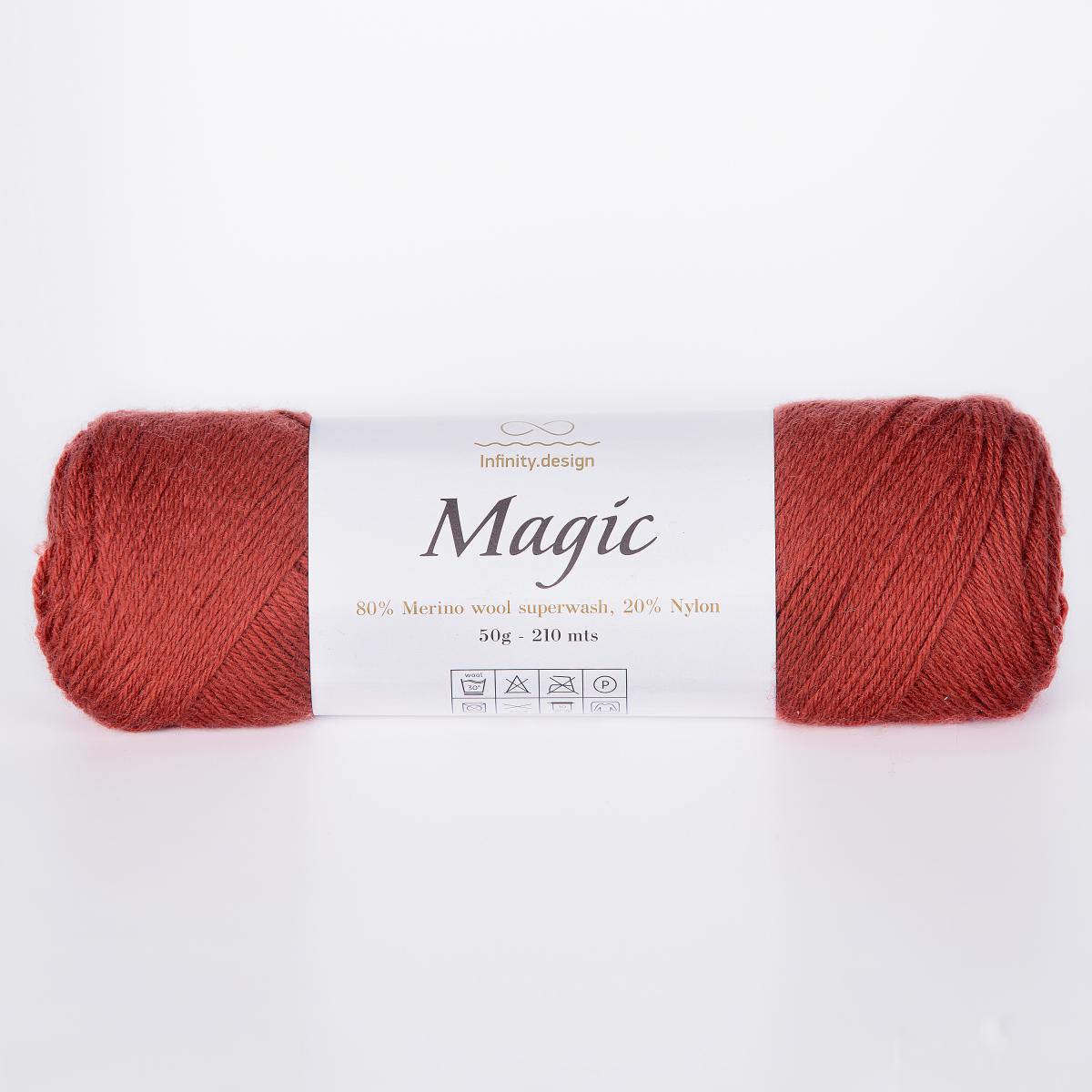 Пряжа Infinity Magic 3355 ржавчина