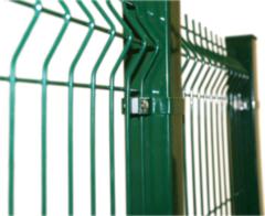 Столб заборный, квадратного сечения, 40х40мм, 3м, зеленый