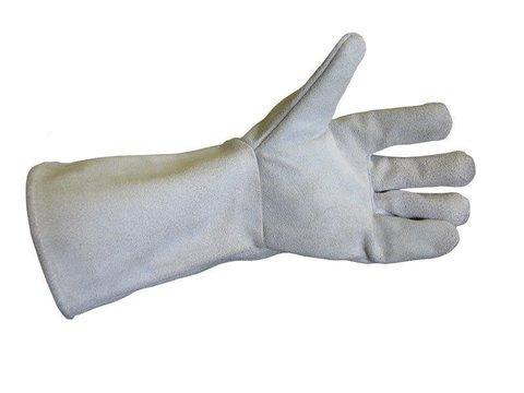 Перчатки для роз пятипалые серые