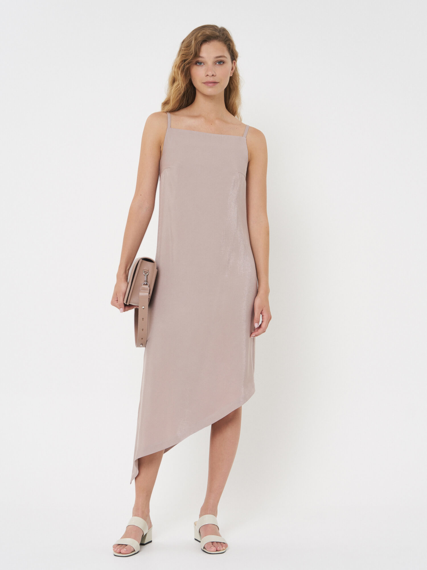 Платье Ashley с асимметричным низом