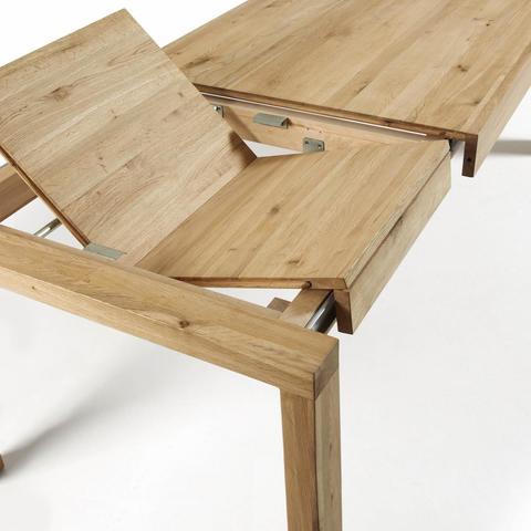 Обеденный стол Vivy 180(230)x90 дуб натуральный