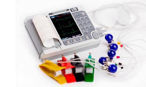 Электрокардиограф ЭК12Т-01-Р-Д с экраном 141мм - фото