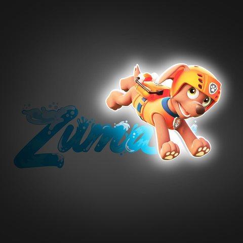 Зума 3D-светильник мини Щенки