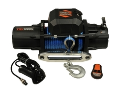 Лебедка автомобильная 4REVO 9000 12V с синтетическим тросом