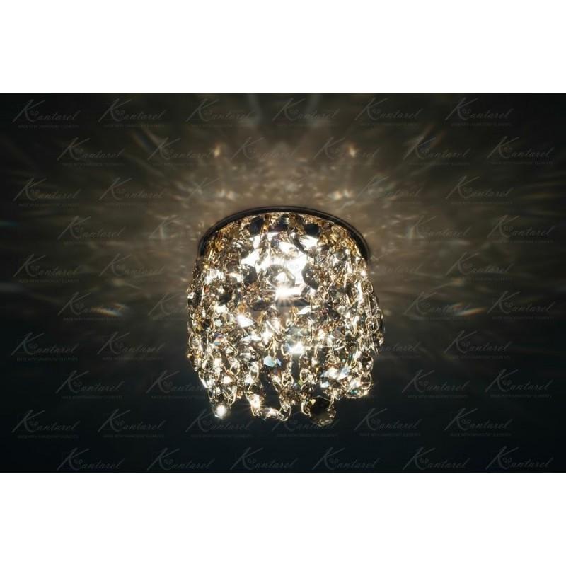 Встраиваемый светильник Kantarel Crown CD 025.2.13 golden teak
