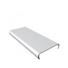 АЛБЕС Панель для потолка / рейка AN85А белая 85х3000мм