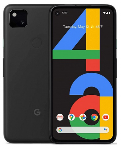 Смартфон Google Pixel 4A 6/128GB Just Black (Черный)