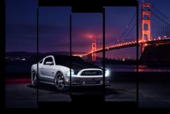 "Модульная картина ""Ford Mustang"""