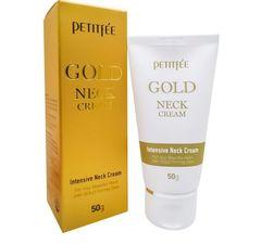 Krem \ Крем \ Cream Крем для шеи и декольте с золотом, Petitfee 50 г