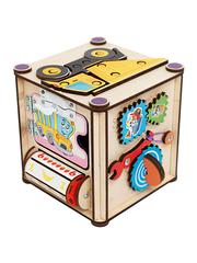 Бизи-куб «Самосвал» (17х17х18) фото 3