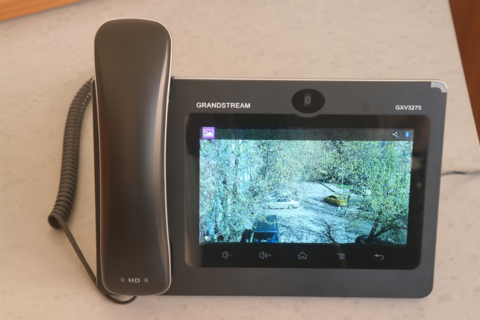 Grandstream GXV3275 - IP видеотелефон.  6 SIP аккаунтов, 6 линий, 7