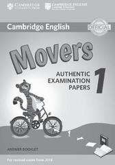 NEW C Young LET  Movers 1 Answer Booklet