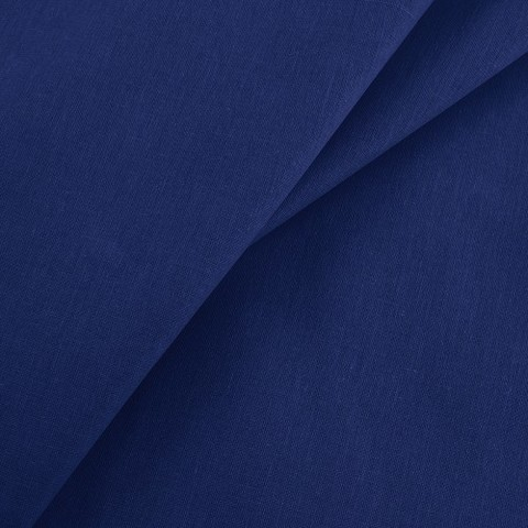Бязь гладкокрашеная 120гр/м2 150 см цвет темно-синий