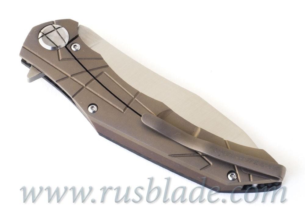CKF Asymmetric midi customizing by Alexey Konygin Bronze Accent - фотография