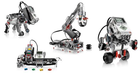 Расширенный образовательный комплект на базе Lego Mindstorms EV3