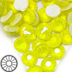 Купить неоновые термостразы ярко-желтые Neon Yellow
