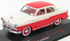 GAZ-M21 Volga white-red (new front grill) 1956 IST013 IST Models 1:43