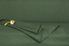Ткань жаккардовая, цвет : зеленая елка