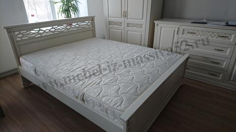 Кровать *Верона* белая