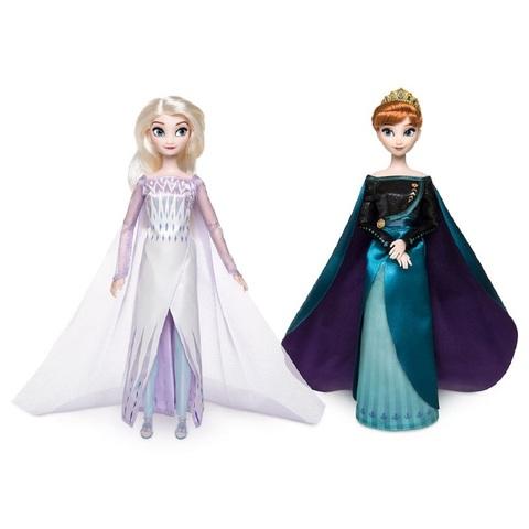 Дисней Холодное сердце 2 королевский набор Анна и Эльза 29 см