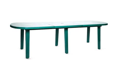Пластиковая вставка для овального стола «Комби» зеленая