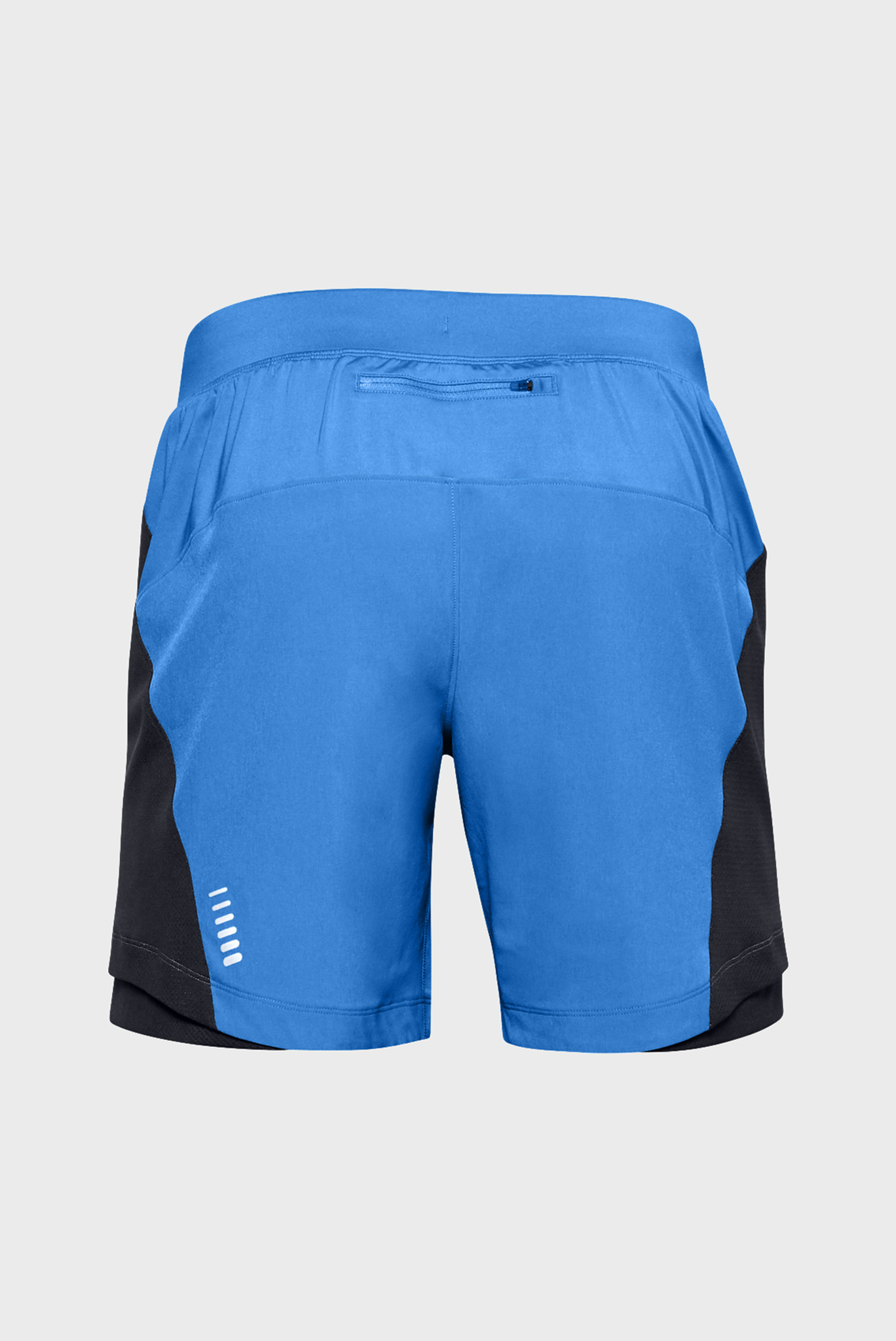 Мужские голубые шорты UA QUALIFIER SPEEDPOCKET 7'' Under Armour
