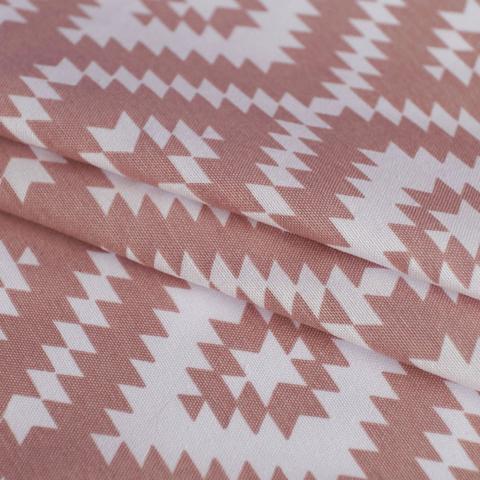 Римская штора из хлопка Арго розовый