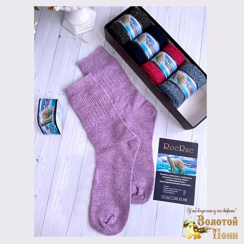 Носки шерсть 5 пар в коробке женские (36-41) 201107-Р8027