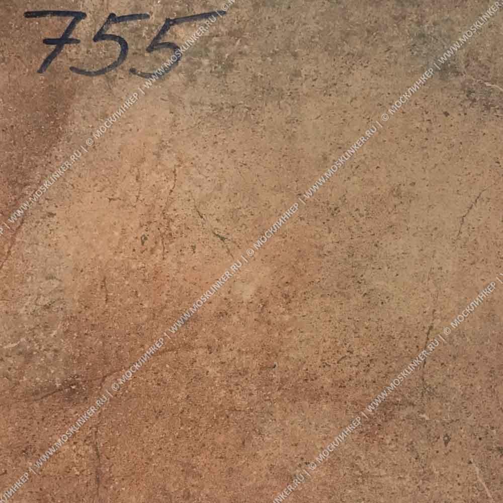 Stroeher - Keraplatte Aera 755 camaro 340x294x12 артикул 9340 - Клинкерная ступень - флорентинер